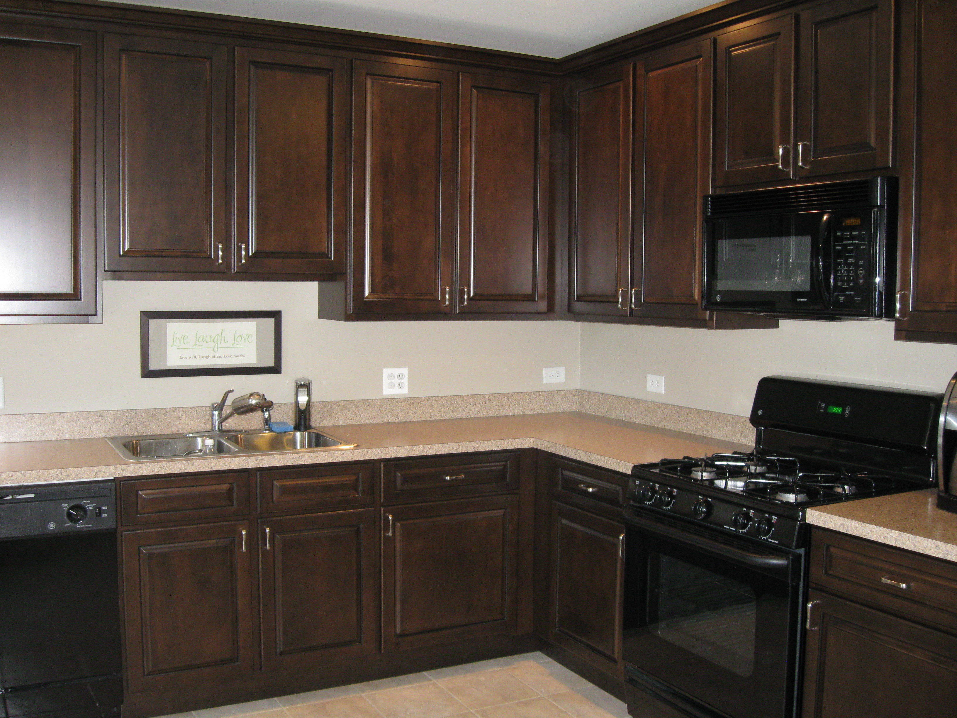 Cabinet refacing images for Oak kitchen cabinets