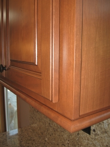 cabinet refacing detail