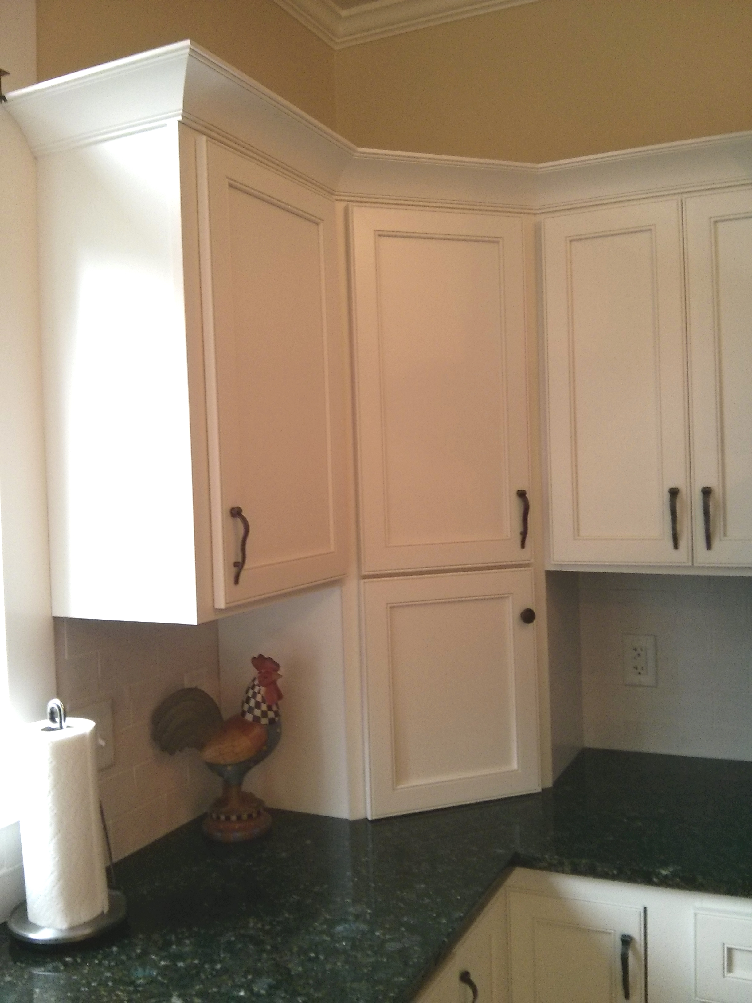 Cabinet refacing in downers grove il kitchen craftsman for Garage door refacing