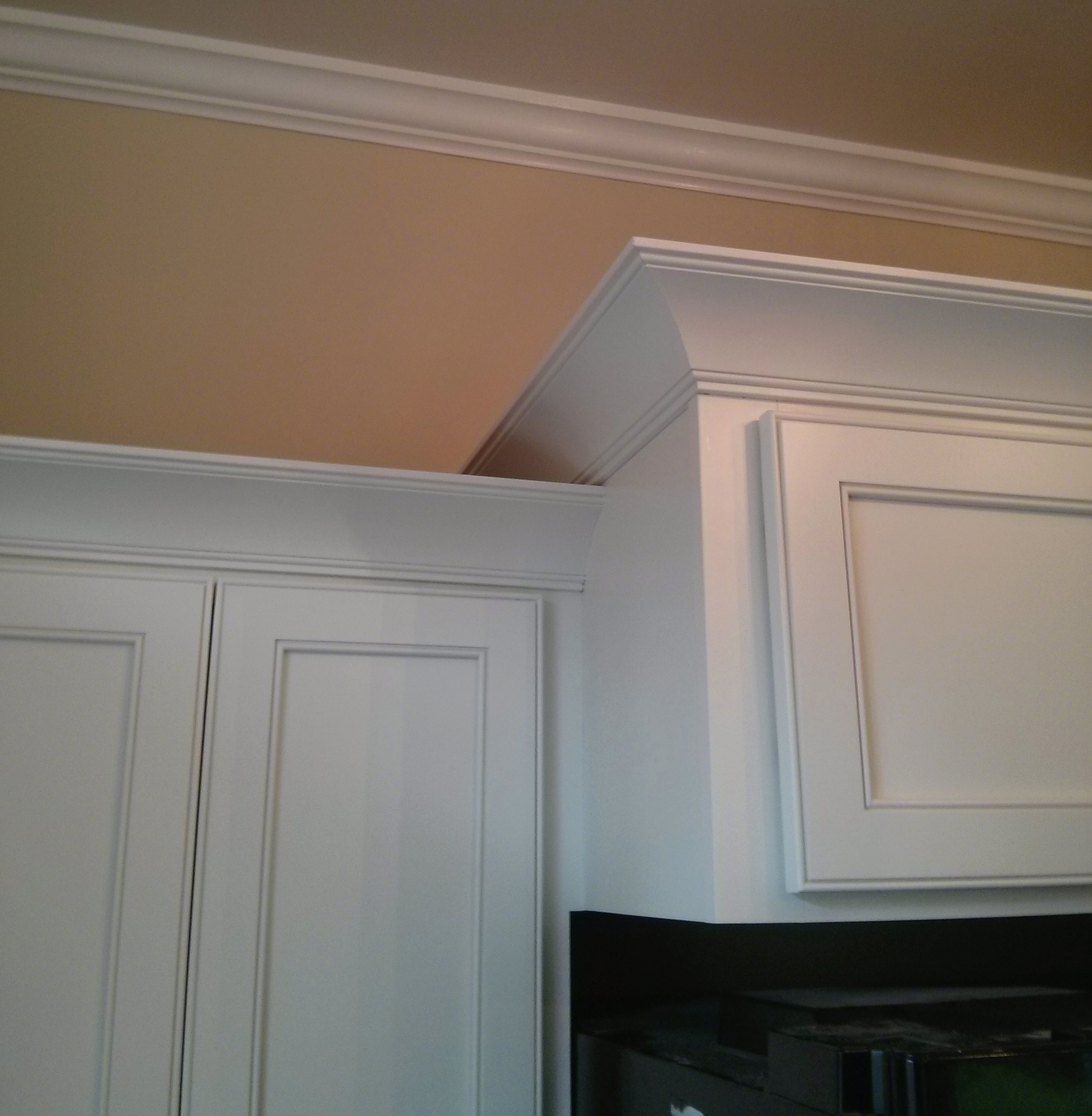 Door Crown Molding Kitchen Cabinet Installation: Cabinet Refacing In Downers Grove, IL