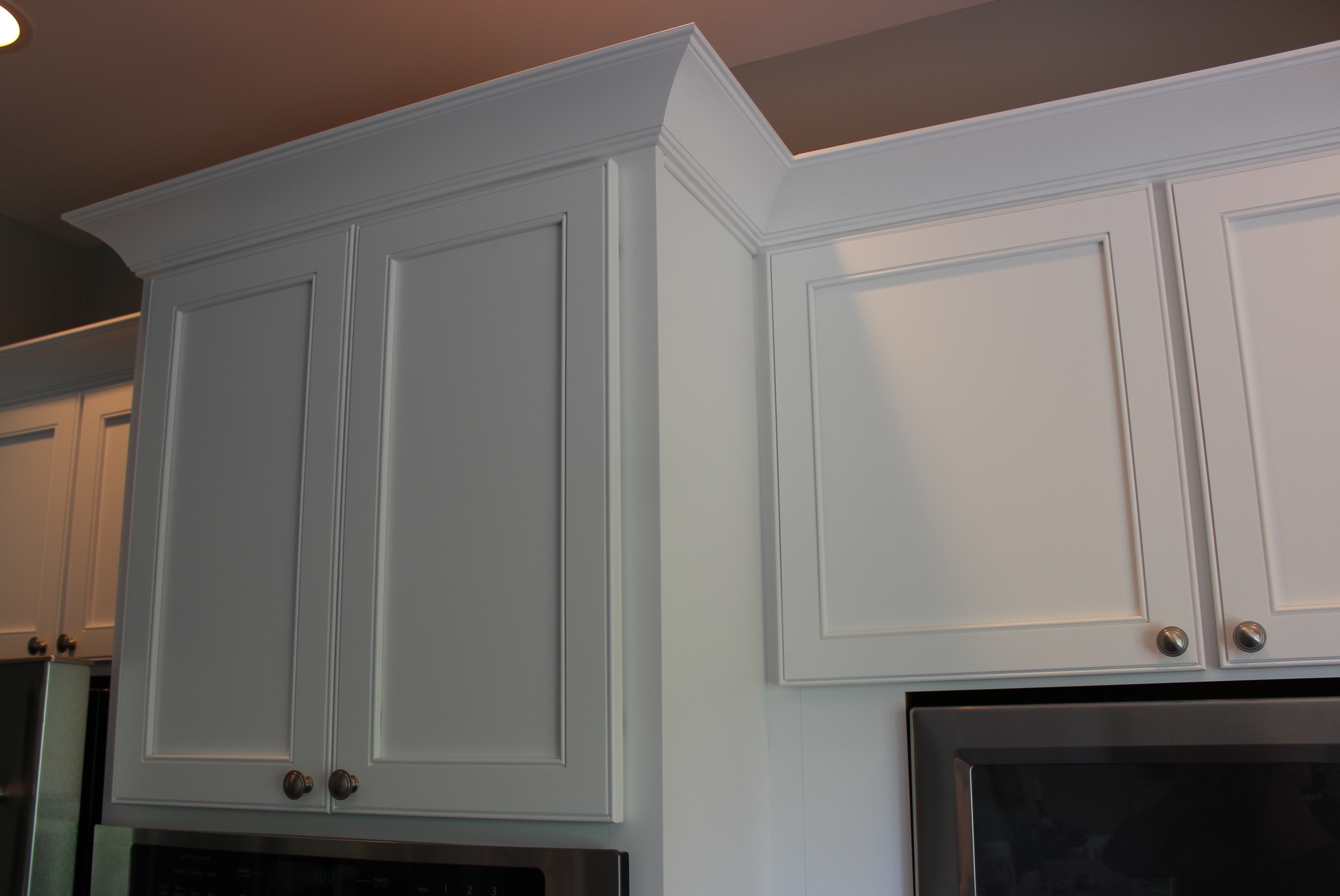 A Factory Applied Conversion Varnish Finish Ensures These Refaced Cabinets  Will Look Great For Years To Come