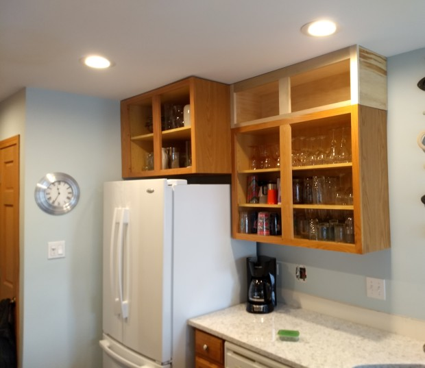 Adding To Upper Cabinets