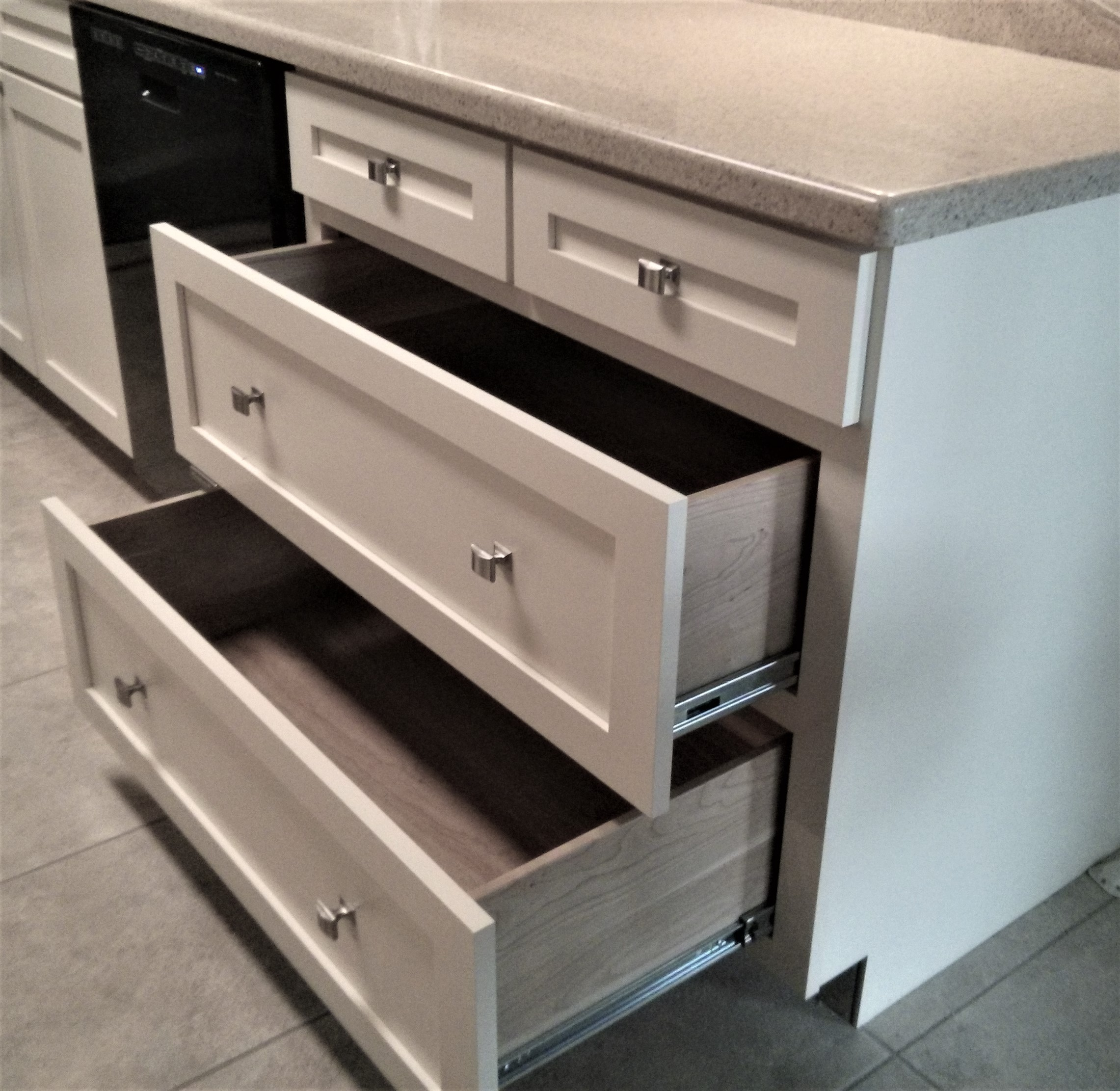 Converting Lower Cabinets to Drawers - Kitchen Craftsman ...